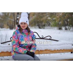 Фото девушки в зимнем костюме