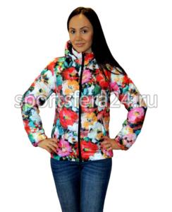 Фото девушки в женской демисезонной куртке DS01