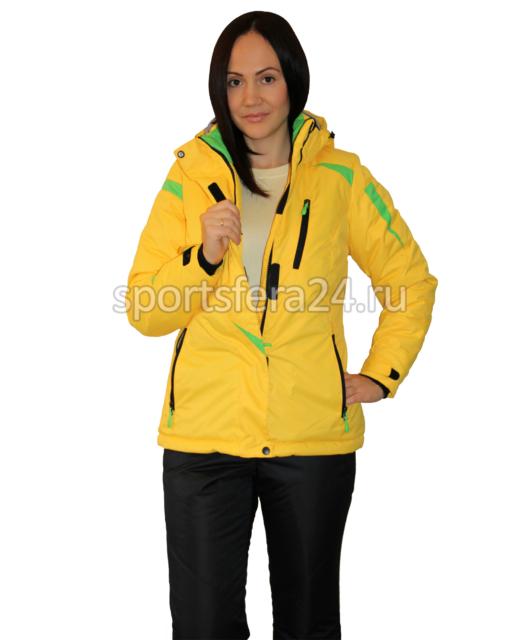Женский зимний прогулочный костюм ATL14 желтый фото