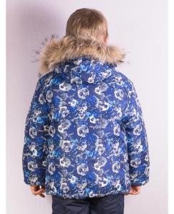 Фото зимней куртки для мальчика, вид сзади
