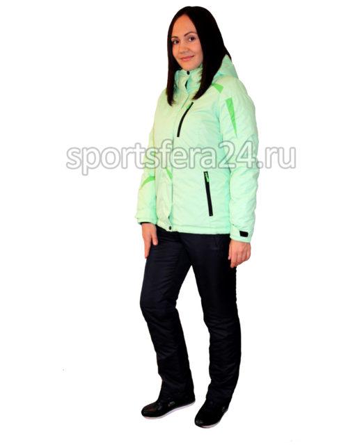 Женский зимний прогулочный костюм ATL14 салатовый фото