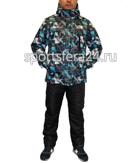 Мужской зимний костюм Айсберг голубой фото