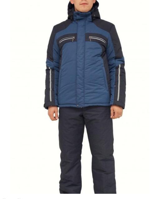 Мужской зимний костюм КТ230 синий/черный