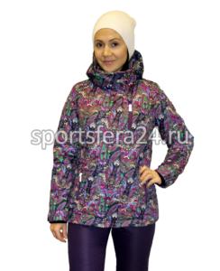 Костюм зимний прогулочный K242 фиолетовый фото