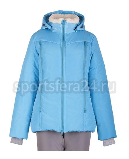 Женский зимний прогулочный костюм M-167 голубой фото