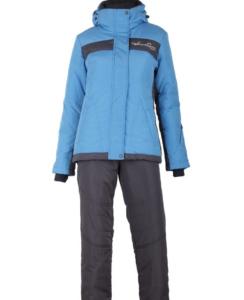 Зимний женский костюм R-131 голубой фото