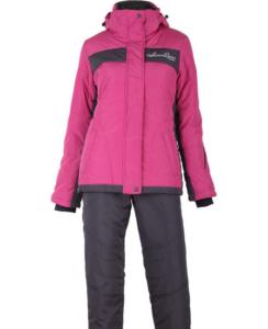 Зимний женский костюм R-131 темно-розовый фото