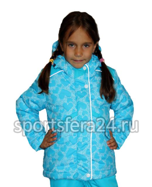 Фото зимнего костюма для девочки 1121, мембрана до -30°C