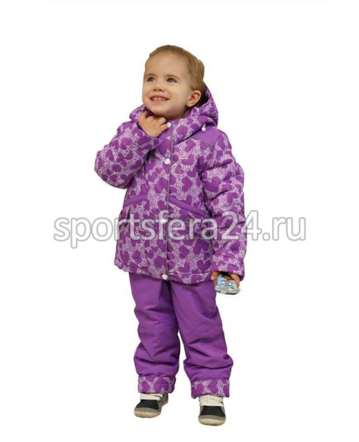 Фото зимнего костюма для девочки 1125, мембрана до -30°C