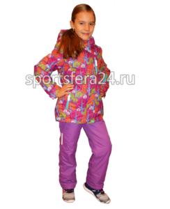 Фото зимнего костюма для девочки 212-2, мембрана до -30°C