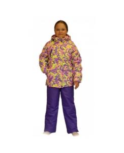 Фото девочки в зимнем комплекте SL161, мембрана до -30 С