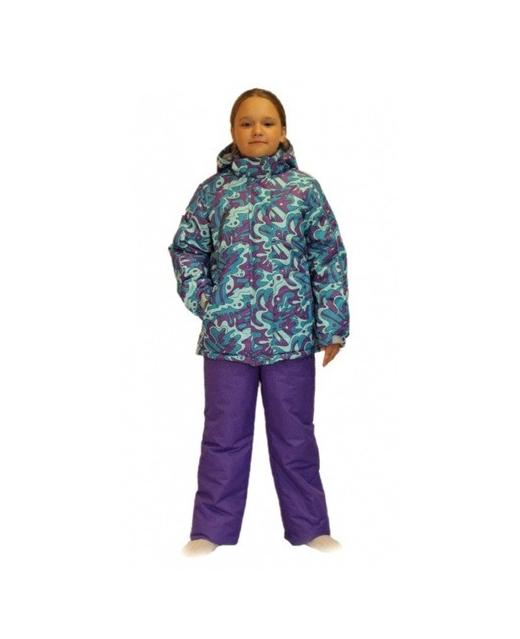 Фото зимнего комплекта для девочки мембрана до -30 градусов SL162