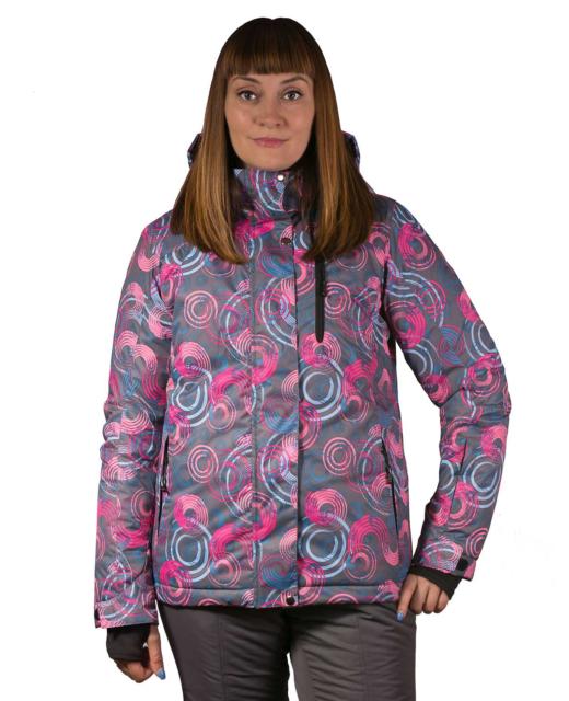 Фото девушки в зимнем прогулочном костюме Скай-12
