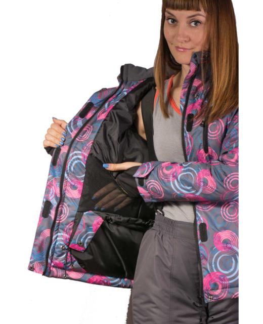 Фото костюм зимний мембрана с множеством карманов для максимального удобства