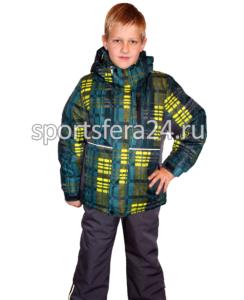 Фото зимнего комплекта для мальчика -35°C. Светоотражающие детали.