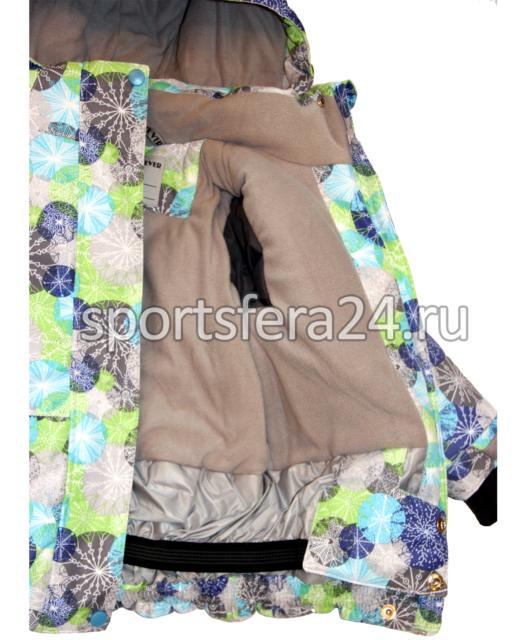 Фото зимней куртки изнутри, подклад omni-heat