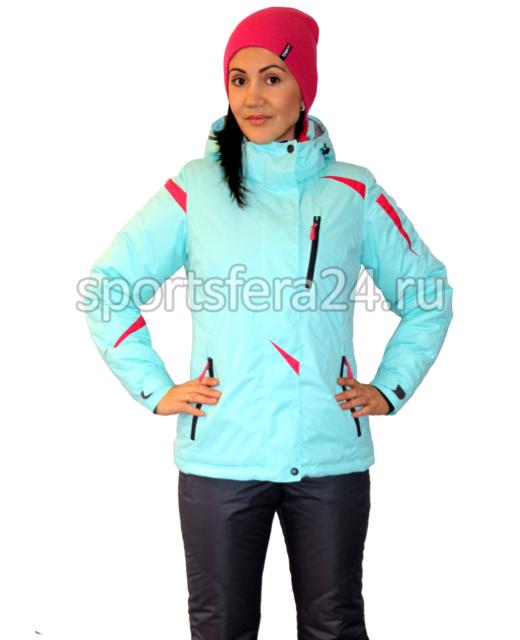 Фото женского зимнего костюма ATL14 мята