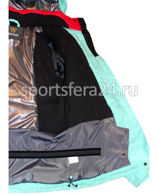 Фото зимняя женская куртка, теплоотражающий подклад