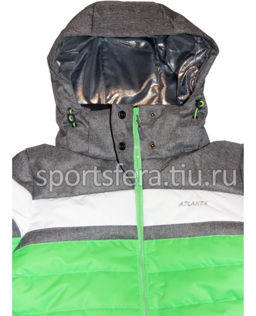 Фото капюшона зимней женской куртки с теплоотражающим подкладом