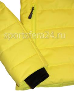 Фото трикотажный манжет зимней куртки