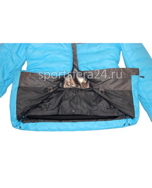 Фото зимнего голубо/серого зимнего костюма изнутри