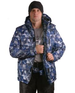 Фото мужчины в зимнем костюме Айсберг