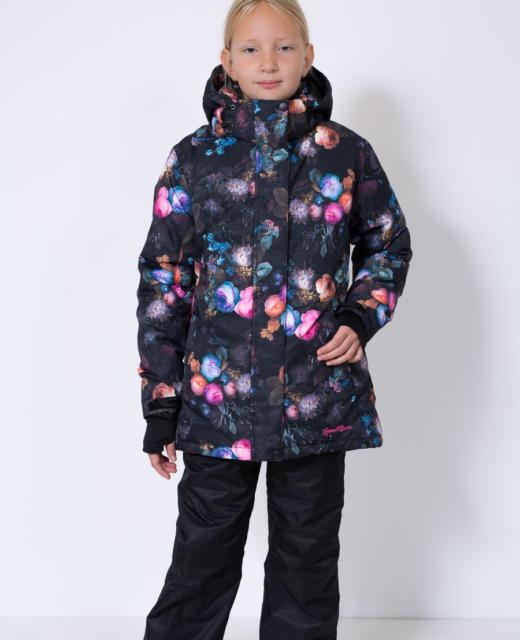 Зимний комплект для девочки модель 611402