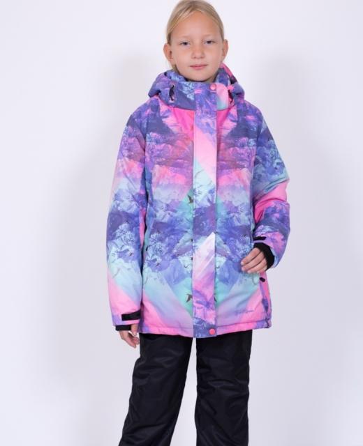 Зимний комплект для девочки модель 611401