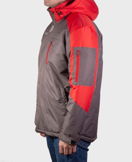 Куртка демисезонная мужская Шторм (серый)