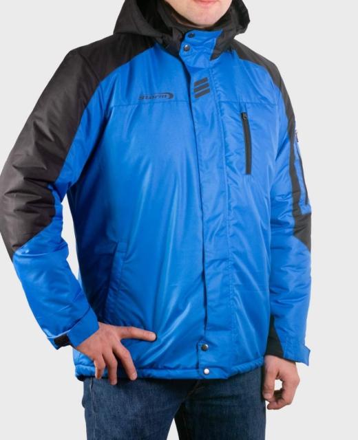 Куртка демисезонная мужская Шторм (васильковый)