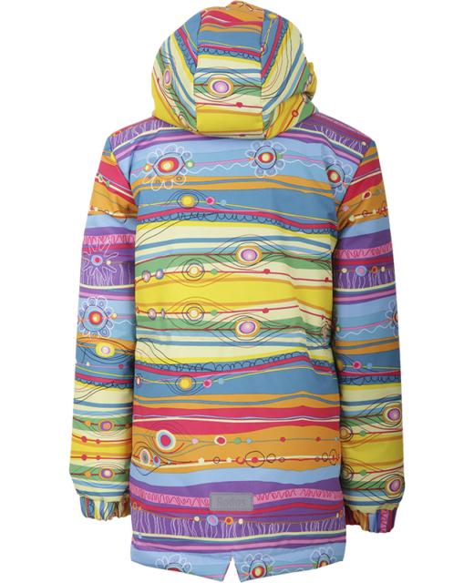 Куртка демисезонная для девочки модель 13198Р